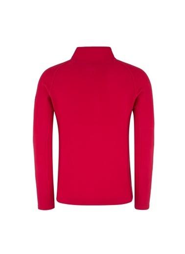 Norway Geographical Sweatshirt Kırmızı